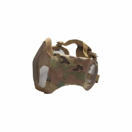 ASG Stalker Grillagé protections visage et oreilles camo