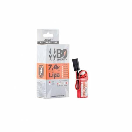 BO Batterie LiPo HPA 2S 7.4V 250mAh 25C