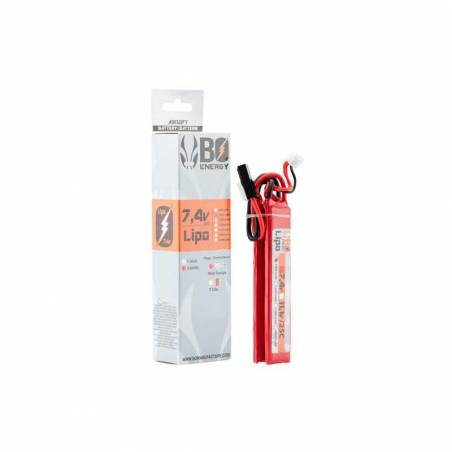 BO Batterie LiPo 2S 7.4V 1000mAh 25C 2 sticks