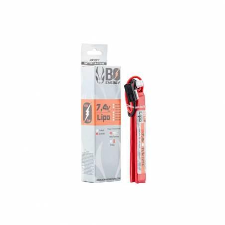 BO Batterie LiPo 2S 7.4V 1200mAh 25C 2 sticks
