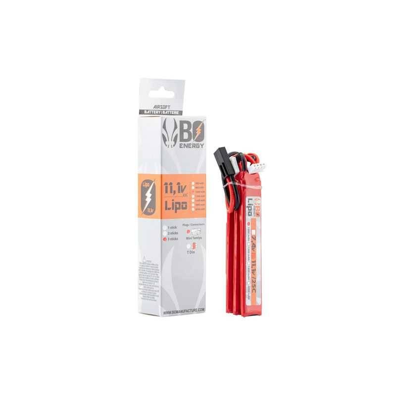 batterie lipo 2S 11.1v 1000mah 25c