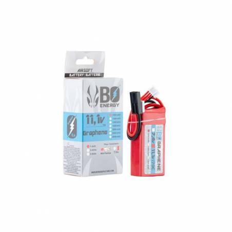 BO Batterie LiPo 3S 11.1V 1000mAh 70C