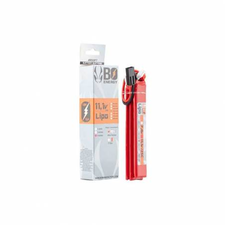 BO Batterie LiPo 3S 11.1V 1300mAh 25C 3 Sticks