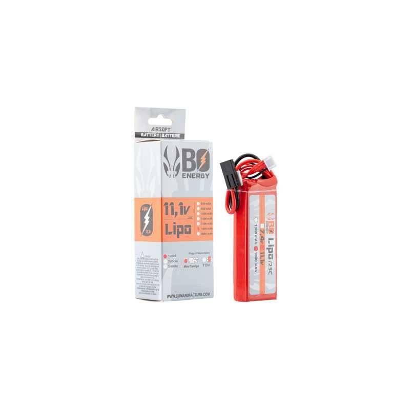 batterie lipo 3s 11.1v 1800mah 25c