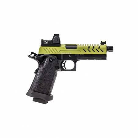 Vorsk Pistolet Hi-Capa 4.3 OD Gaz avec Red Dot