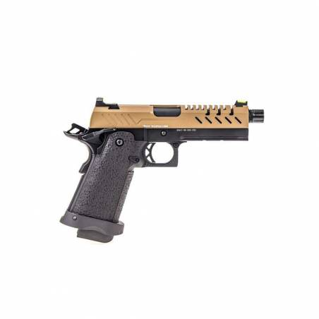 Vorsk Pistolet Hi-Capa 4.3 Noir & Tan Gaz