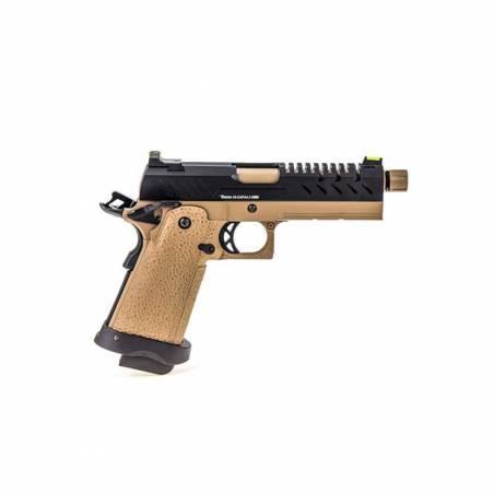 Vorsk Pistolet Hi-Capa 4.3 Tan & Noir Gaz