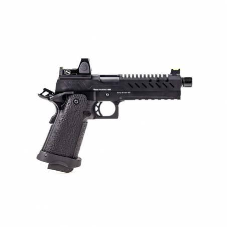 Vorsk Pistolet Hi-Capa 5.1 Noir Gaz avec Red Dot