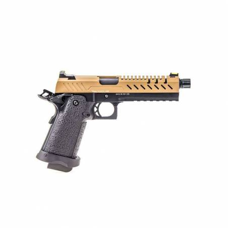 Vorsk Pistolet Hi-Capa 5.1 Noir & Tan Gaz