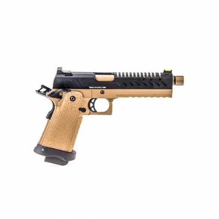 Vorsk Pistolet Hi-Capa 5.1 Tan & Noir Gaz