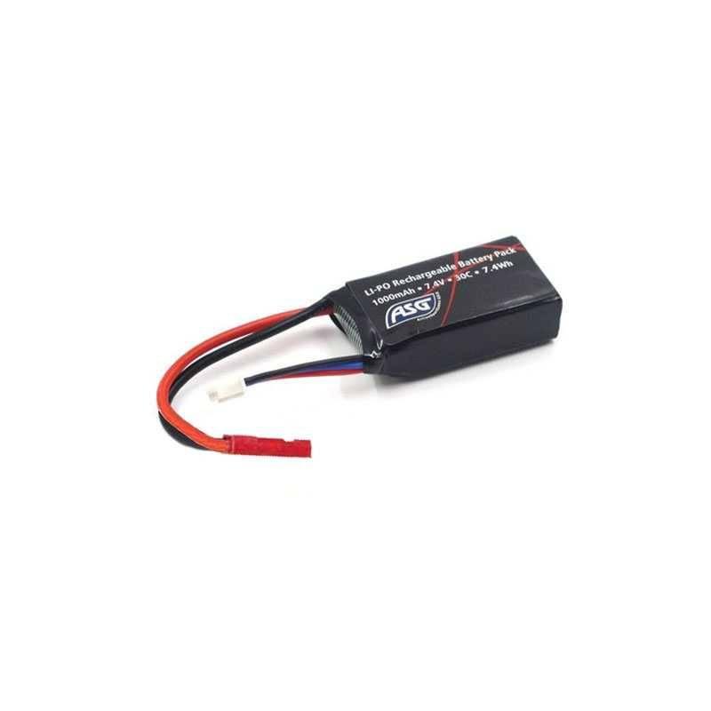 batterie hpa 7.4v 250mAh asg