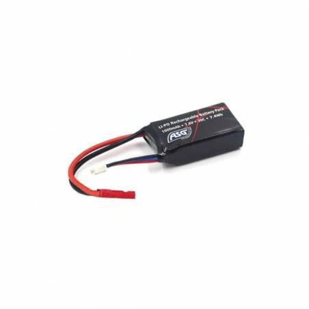 ASG Batterie LiPo HPA 7.4v 250mAh