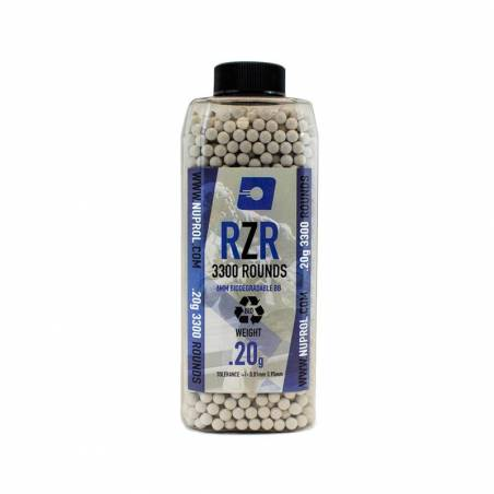 Nuprol Billes BIO RZR 0.20g (x3300) en bouteille