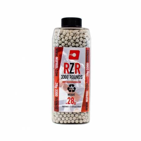 Nuprol Billes BIO RZR 0.28g (x3300) en bouteille