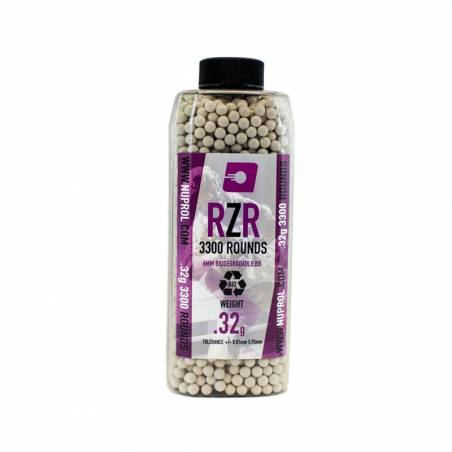 Nuprol Billes BIO RZR 0.32g (x3300) en bouteille